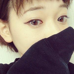 齋藤美沙貴 さいとうみさき カラコンありメイク画像