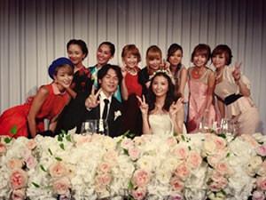 矢野未希子 結婚式 ウエディングドレス