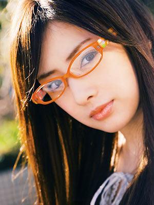 北川景子 メガネ 眼鏡 画像