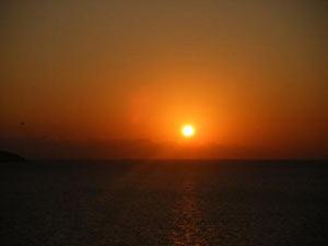 イビサの夕陽