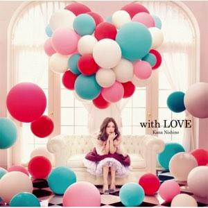 西野カナ アルバム『with LOVE』画像