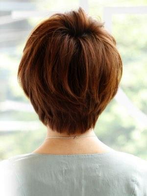 堀北真希風ショート 髪型画像