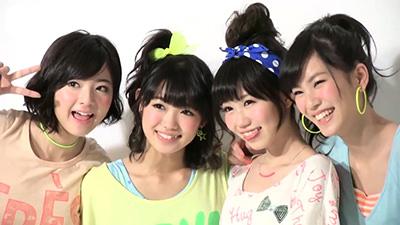 「SNRS」関紫優、山口乃々華、小林玲、長崎すみれ画像