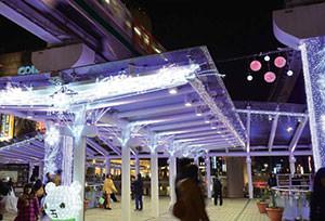 JR小倉駅 クリスマス・イルミネーション