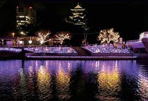 小倉城 クリスマス・イルミネーション