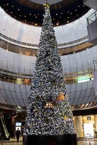 リバーウォーク北九州 クリスマス・イルミネーション