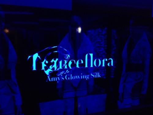 スプツニ子!GICCI(グッチ)エイミの光るシルク展 画像