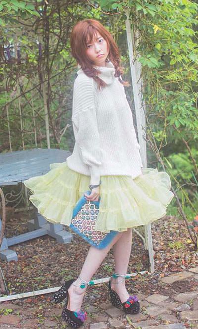 モデルの島崎遥香