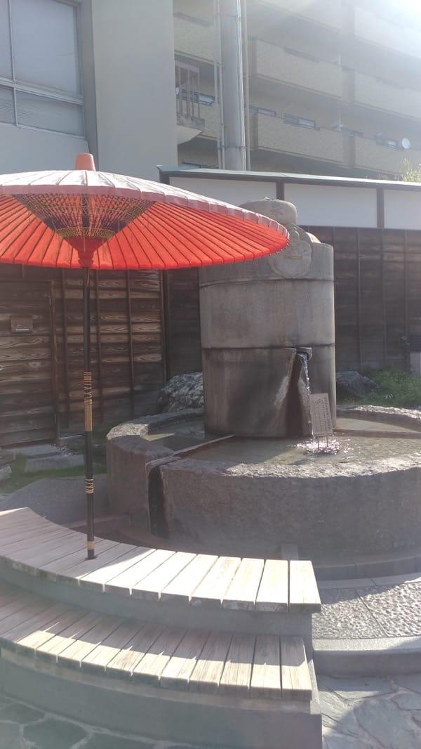 道後温泉・放生園の足湯